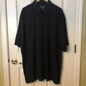 Indygo Smith Black Short Sleeve Shirt 2XB